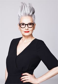 The Silver Glory Trend (for Mature Clients!): 4 White Looks That Emphasize Silver Accents & Gray Tones - Inspiration - Modern Salon