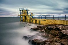 I want to do this!  Blackrock Diving Tower Salthill Galway Ireland.