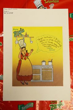 Los niños dibujan Pastas Zonia  www.organizacionsolarte.com