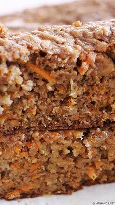 Jam Hands: Moist Apple Carrot Bread