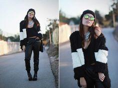 Mash Style Necklace, Sheinside Fur Coat, Zero Uv