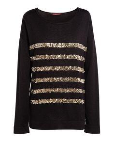 Sequin stripe top | Jumpers and cardigans | Comptoir des Cotonniers