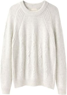 Girl by Band of Outsiders Chunky Cable Pullover Band Of Outsiders