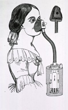 Snow's chloroform inhaler, 1858 was designed by John Snow (1813-58). He was the first specialist anaesthetist in Britain and he administered anesthesia to Queen Victoria during the birth of her son Leopold in 1853. He is considered to be one of the fathers of epidemiology, because of his work in tracing the source of a cholera outbreak in Soho, England, in 1854.