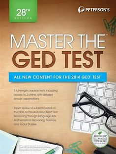 64 best study guides aides images on pinterest study guides for petersons master the ged test fandeluxe Choice Image