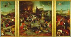 de Verzoeking van de heilige Antonius - Jeroen Bosch