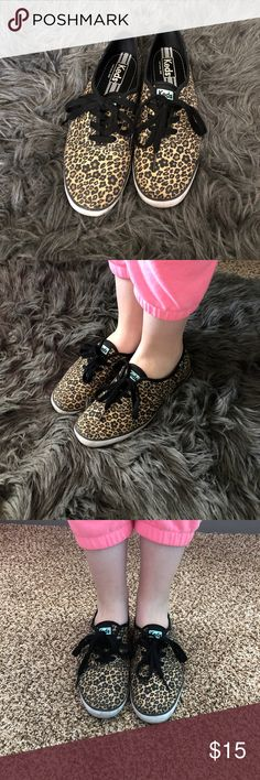 Cheetah Keds Women's cheetah print keds. Only worn a few times. In great condition. Size 7. Shoes Sneakers