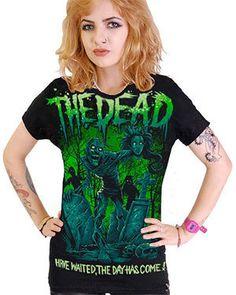 koszulka krótki rękaw DARKSIDE THE DEAD   sklep rockowy metalRoute.pl