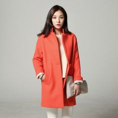 Brightly colored coat