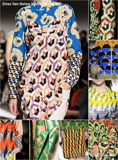 Patternbank brings you another Fall17 catwalk print spotlight. These posts deliveramore focused overview of the directional print & pattern looks tha