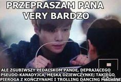 Przepraszam bardzo! Tu się mówi po polsku!