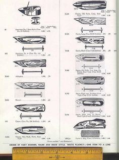 Master Catalog Page 28 - Sewing Machine Shuttle Identification