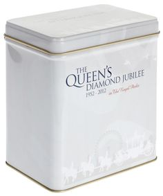Silver Jubilee Afternoon Blend Tea Tin