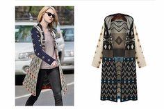 Aliexpress.com: Wischoo--Shopping Wise Choose üzerinde Güvenilir hırka süveter kadın tedarikçilerden 2015 yeni moda kış uzun kollu açık dikiş kapüşonlu çizgili örme uzun hırka kadın kazak artı boyutu hırka feminino Satın Alın
