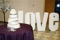 Netties Expressions | GIANT LOVE letters from styrofoam