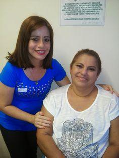 Espaço Adriana Lobrito Maquiagem e Dicas!: Ação Solidária com Maquiagem