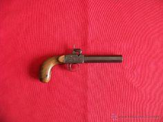 Armas antiguas en todocoleccion: pistola de piston