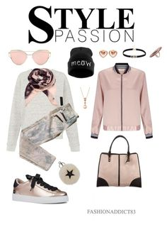 """""""Sin título #734"""" by mar-quintana on Polyvore featuring moda, Whistles, Work Custom, Nine West, Rebecca Minkoff, Miss Selfridge, STELLA McCARTNEY, LE VIAN, Marc by Marc Jacobs y House of Harlow 1960"""