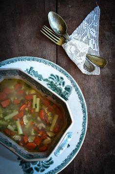 chicken and mung bean soup