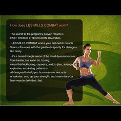 How does Les Mills Combat work? This is how with Fast Twitch Integration Training.