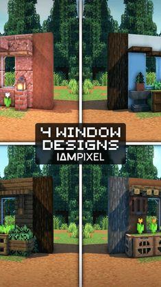 Minecraft House Plans, Minecraft Farm, Minecraft Cottage, Easy Minecraft Houses, Minecraft House Tutorials, Minecraft House Designs, Minecraft Decorations, Minecraft Construction, Amazing Minecraft