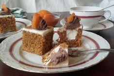 Mrkvová torta plnená mascarpone plnkou pečená v ZILA tortovej forme pre 25 porcií - kocka