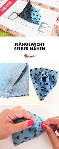 Nähgewicht/Schnittbeschwerer selber nähen - Gratis-Nähanleitung via Makerist.de
