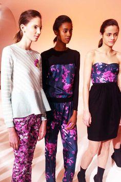 Calla floral print bustier dress