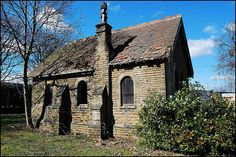 This small derelict chapel in the middle of a field in Menston, is one  of the saddest places you will ever see.There are over 2,000 inmates from High Royds Paupers Lunatic Asylum buried in unmarked graves here.