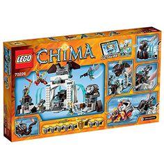 Amazon.de: Lego Legends of Chima 70226 - Die Eisfestung der Mammuts: Spielzeug