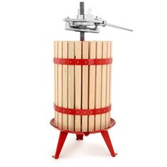 TSM Products 30-Liter Harvest Fruit and Wine Press, With Ratchet Handle