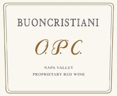 2008 Buoncristiani Family Winery Red Blend O.P.C. 750 mL *** Click on the image for additional details.