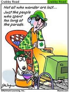 Saint patrick picture quotes | Maxine St. Patrick's Day Quotes