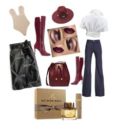 """""""Untitled #94"""" by kw1110 on Polyvore featuring Michael Kors, Fashion Forms, J.Crew, 7 For All Mankind, Forever 21 and Burberry"""