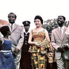 Ghana's first 1st Lady, Madam Fathia Nkrumah (born Fathia Halim Roizah Rizk) was born in Cairo, Egypt. Fathia was a 26-year-old...