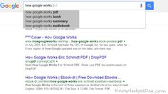 Google Instant Search Guide.