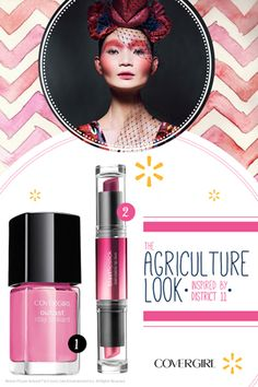 Find out more about the products of The Agriculture Look The Hunger Games COVERGIRL #CapitolLooks Collection @Walmart