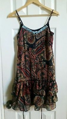Target xhilaration size s/p multi color dress