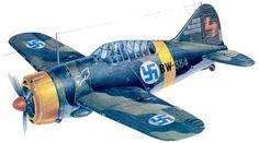Brewster B-239 BW-364 Эйно Юутилайнена