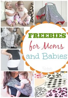 freebies for moms and babies featured