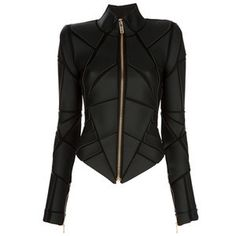 Inspiration for Knit Armour Project  Geometric Armour Jacket by Gareth Pugh
