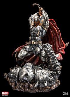 Dc Comics Superheroes, Marvel Comics Art, Marvel Heroes, Comic Book Characters, Comic Character, Character Design, Marvel Statues, Thor 1, Art Basics