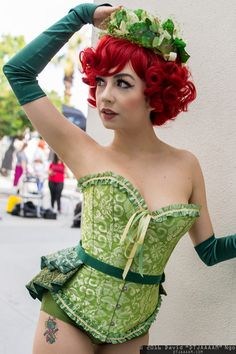 Poison Ivy #Cosplay | Anime Los Angeles 2016