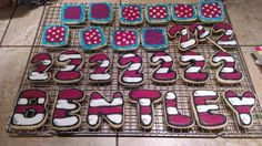 Dr. Seuss cookies for Bentley