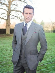 Chester Barrie flannel three piece suit, Savile Row. Very Nice!!!!