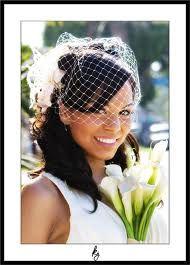 small wedding veil - Google Search