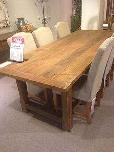 Farmhouse dining table - Freedom - 2600 x 1000 x 760 - PERFECT size for verandah