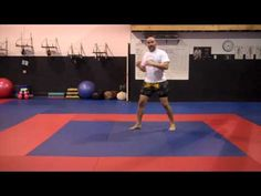 Muay Thai and Boxing footwork and evasions Tutorial 1. - YouTube