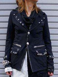 BLACK ROCK Jacket Black. See more at http://www.cdjapan.co.jp/apparel/sexpot.html #harajuku #punk