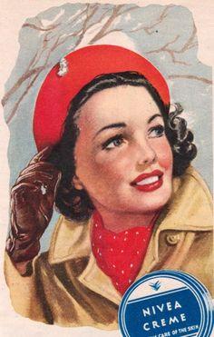 Γγρ│ affiche publicitaire rétro,1949.